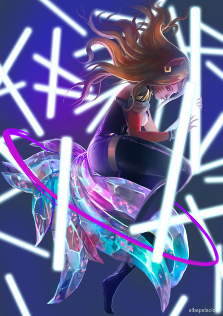 Ahri Kda League Of Legends By Reviashart T