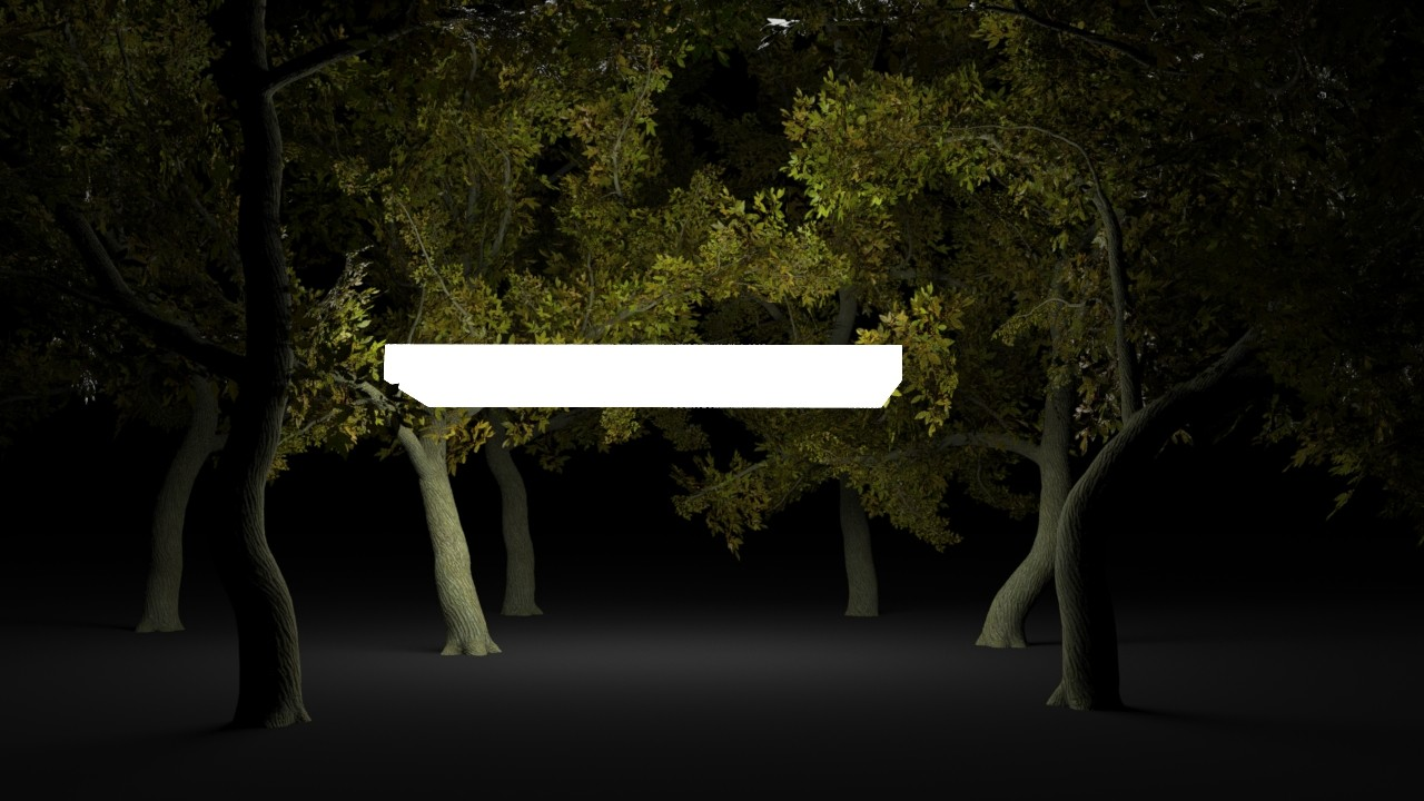ArtStation - Houdini experiments : Procedural tree - various
