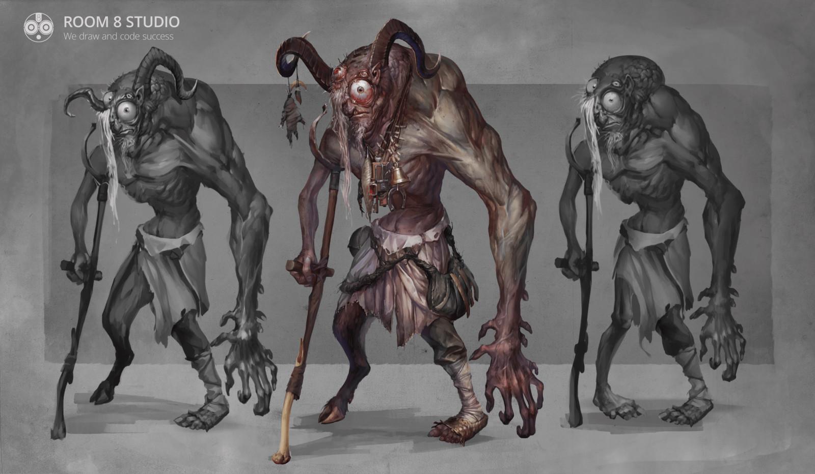 Verlioka: Fantasy Creature from Witcher Universe