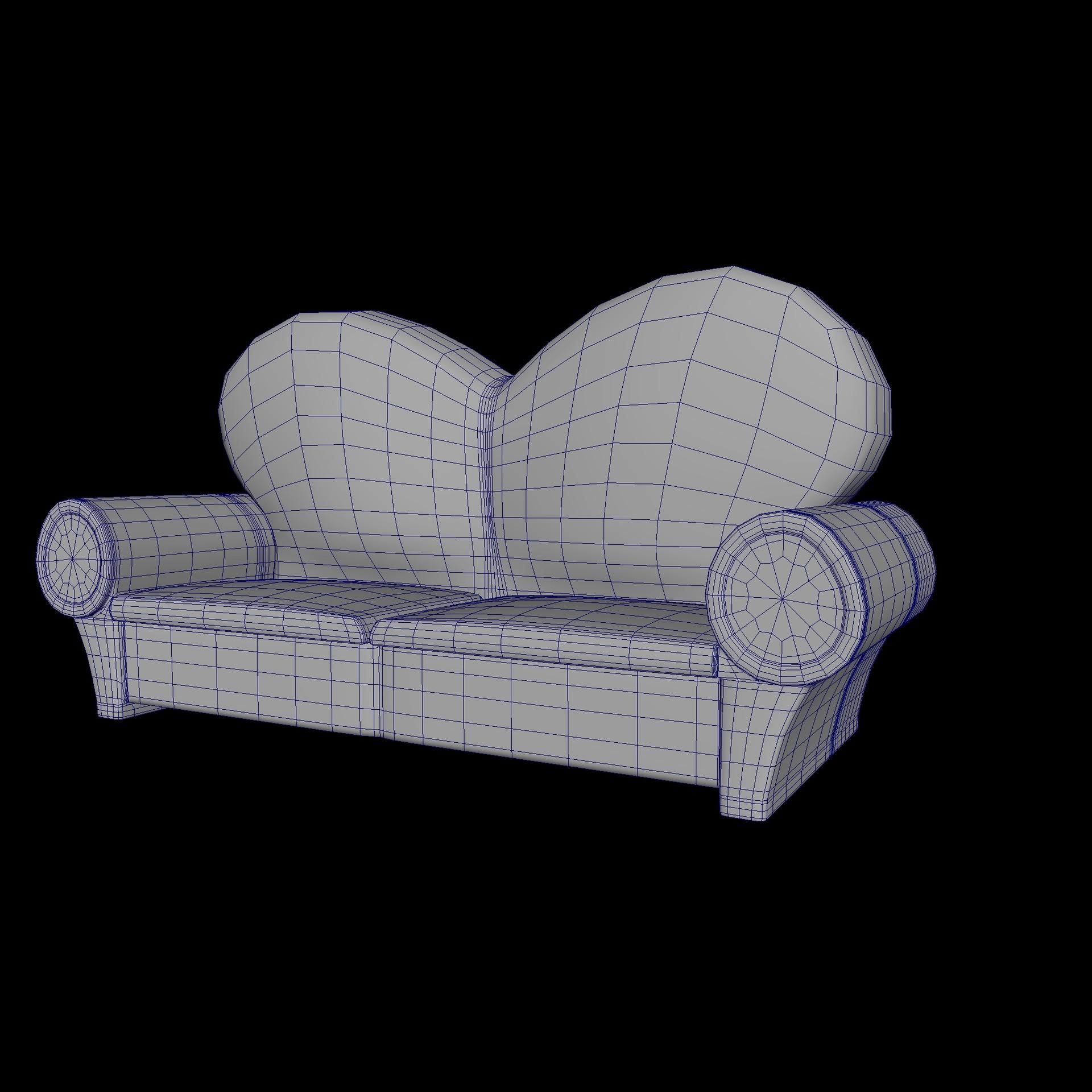 ArtStation - Ratty Couch, Vanessa Rosuello