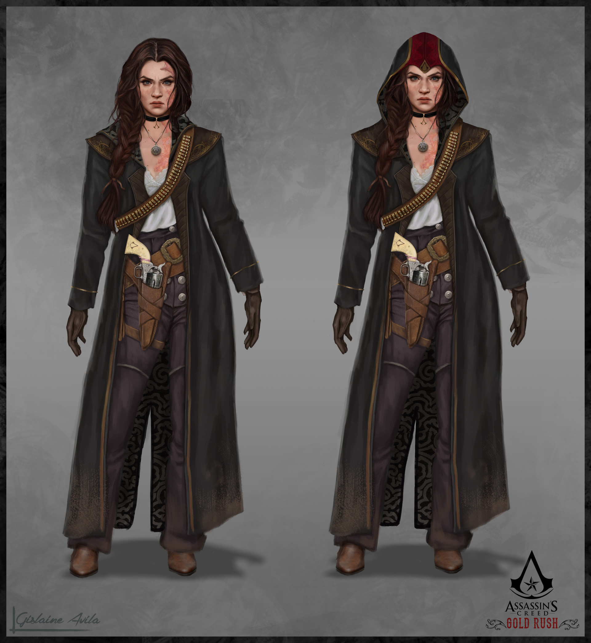 Artstation Assassins Creed Gold Rush Delilah Graham Fanart