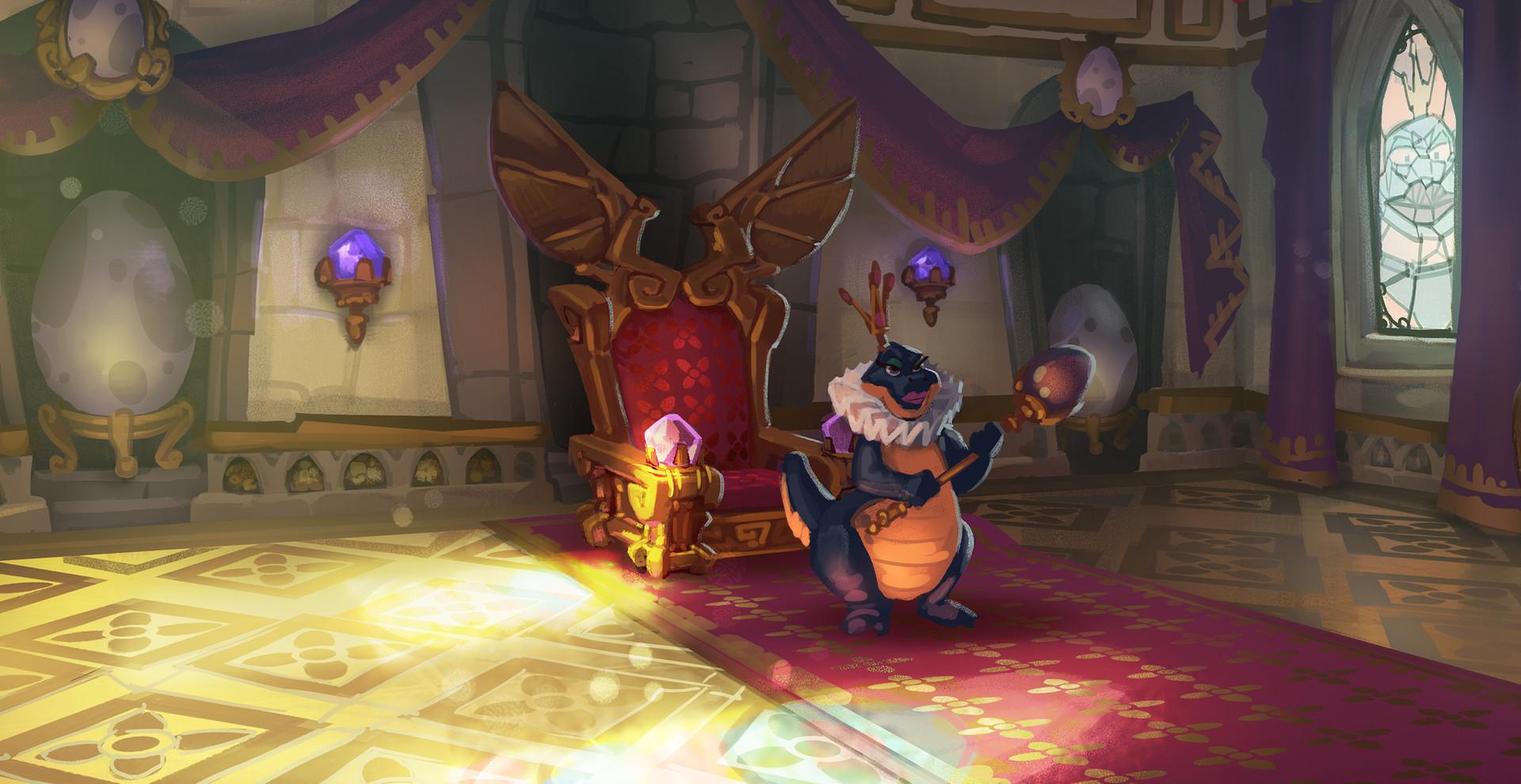 Design A Car Game >> Pedro Cardoso - Spyro Reignited Trilogy - Sorceress Throne room