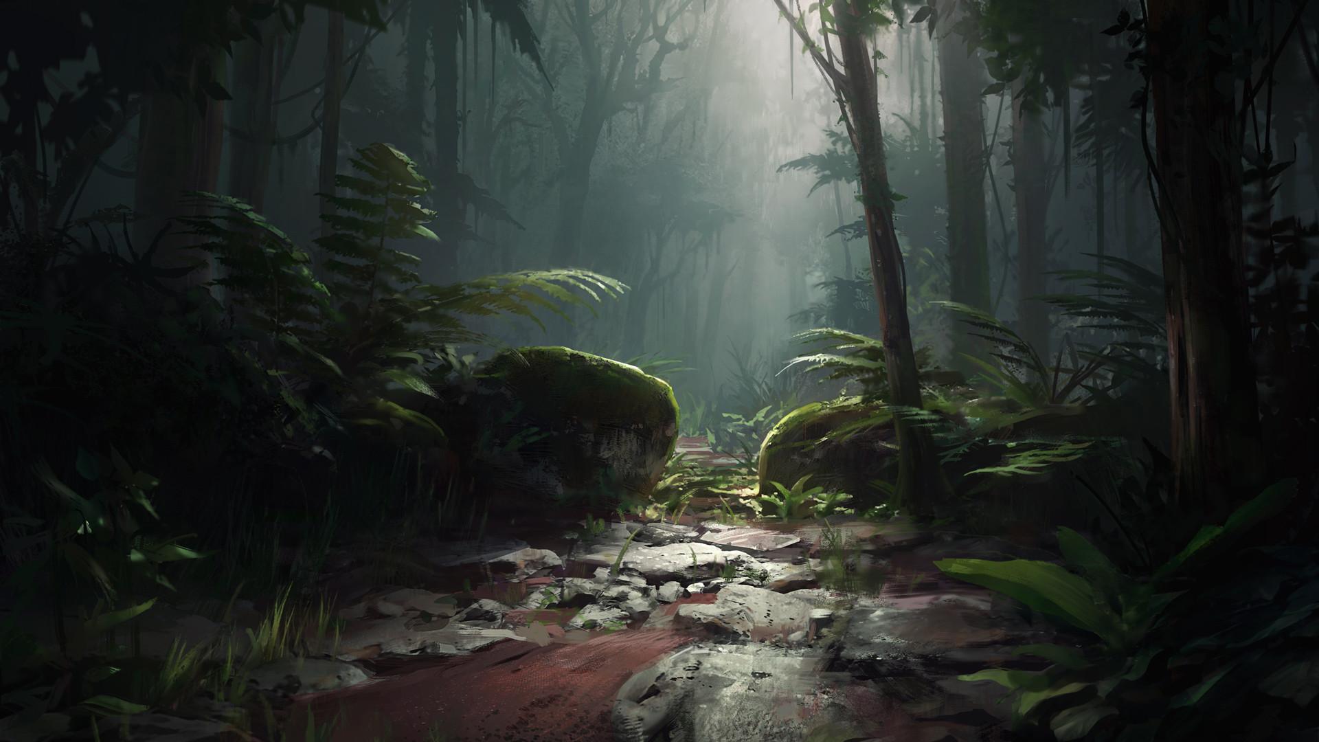 Sean vo seanvo jungle scene