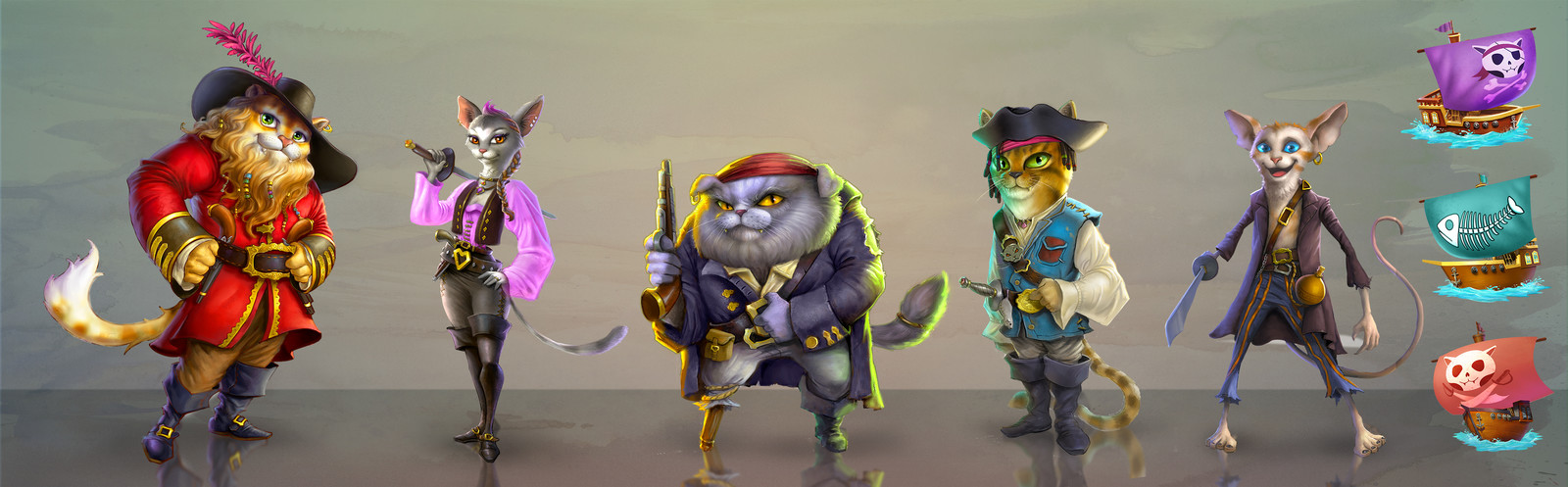 cat pirates