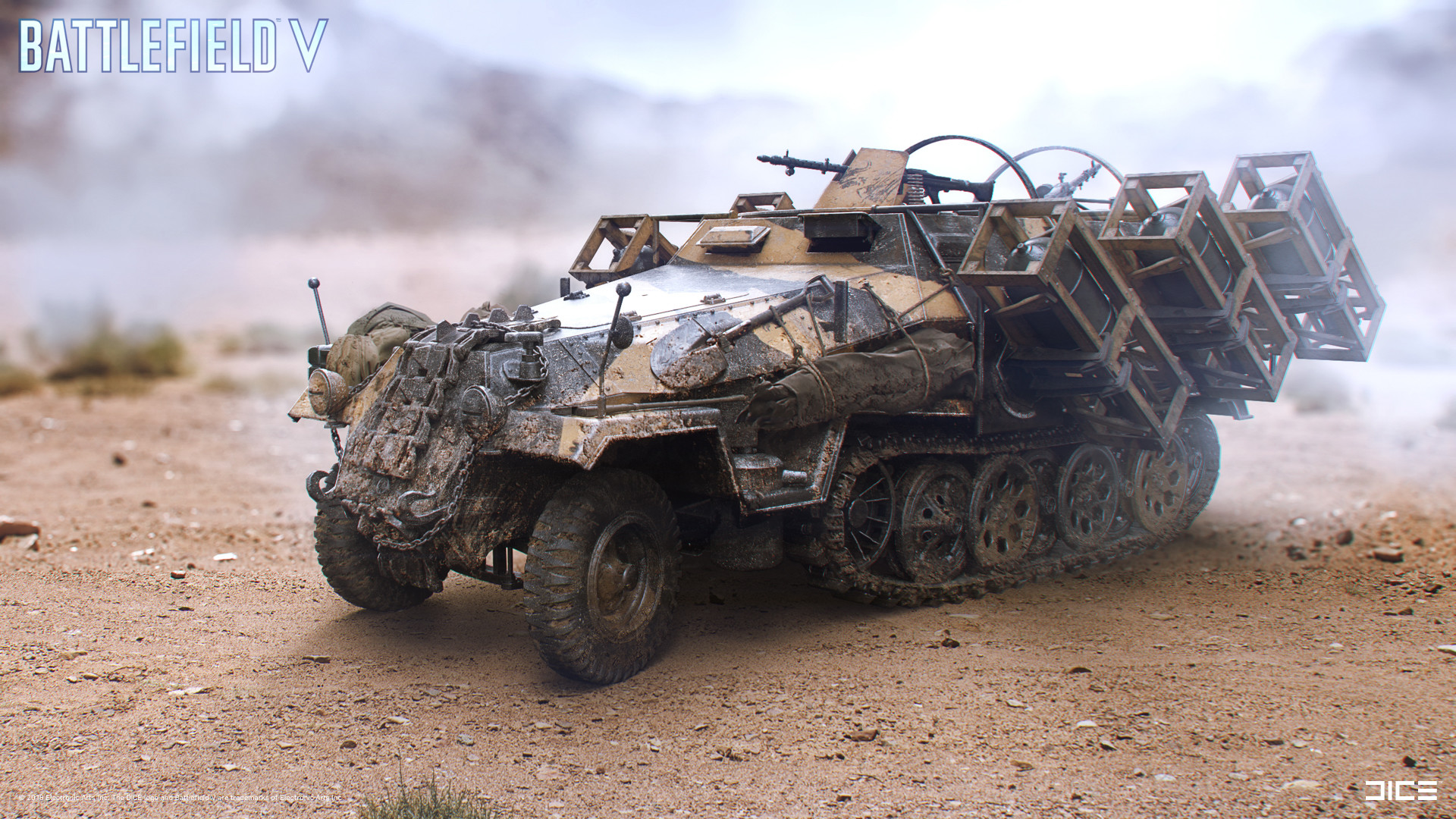 """Battlefield V"" - Hanomag - Vehicle concept art"
