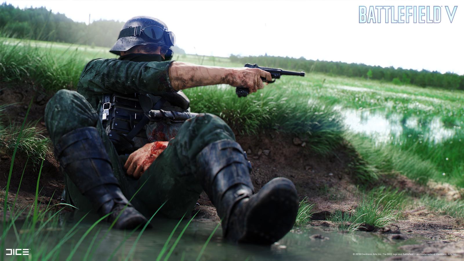 """Battlefield V"" - Axis Assault in Escaut, France - Visual target concept"