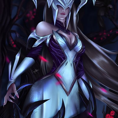 Camilla ferrari coven lissandra fan art