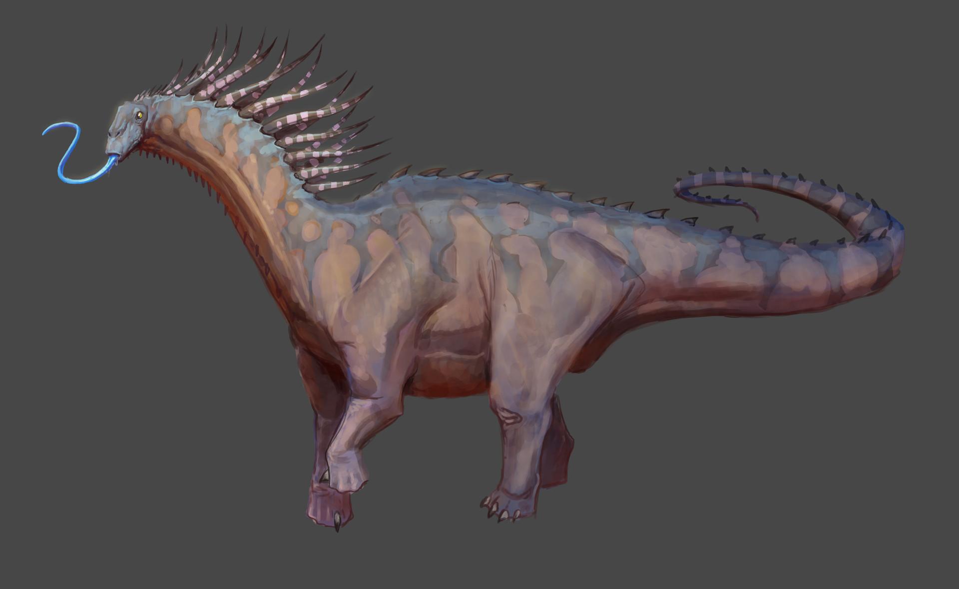 Pablo rivera amargasaurus