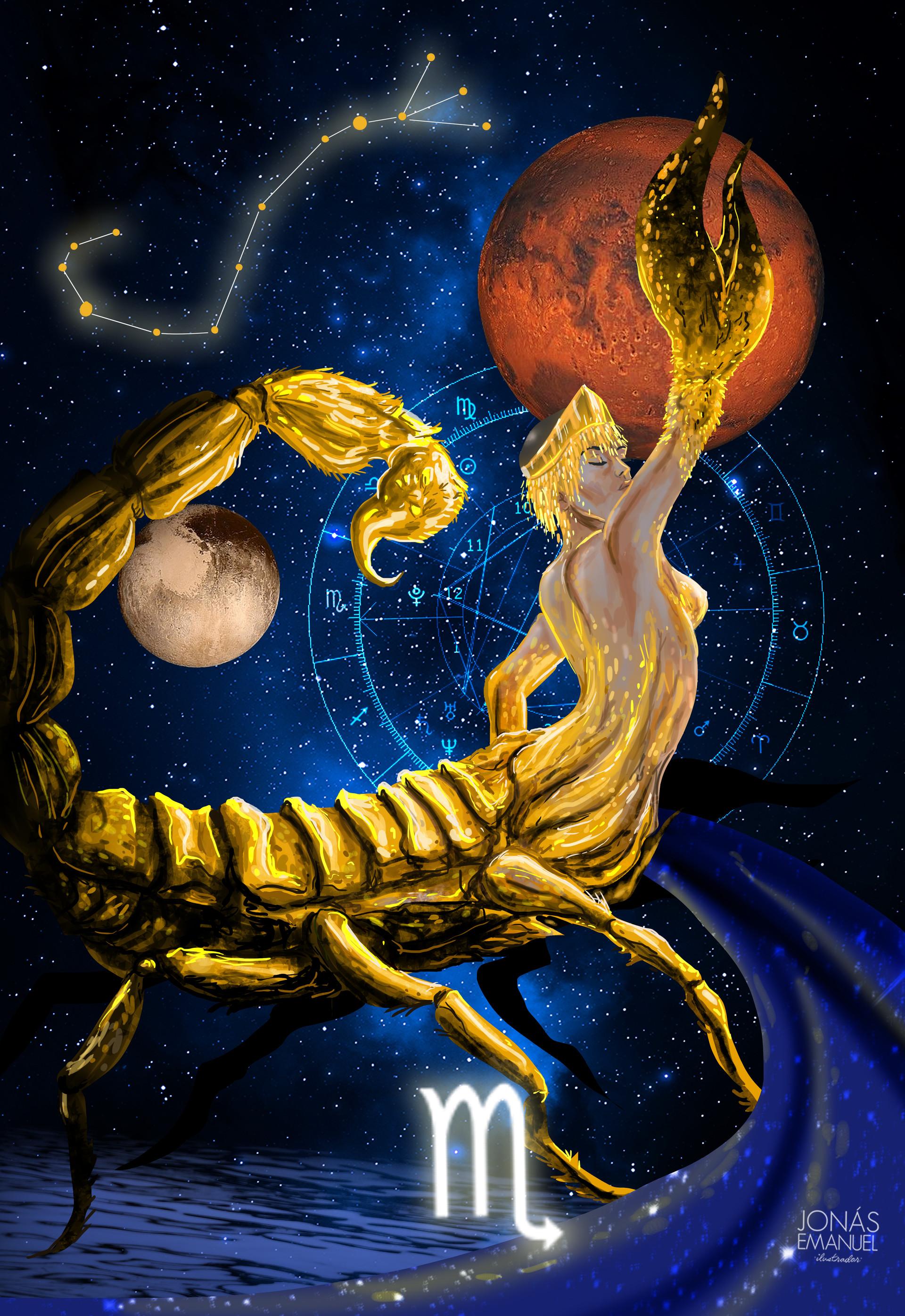 каждым красивая картинка скорпиона знака зодиака что готов