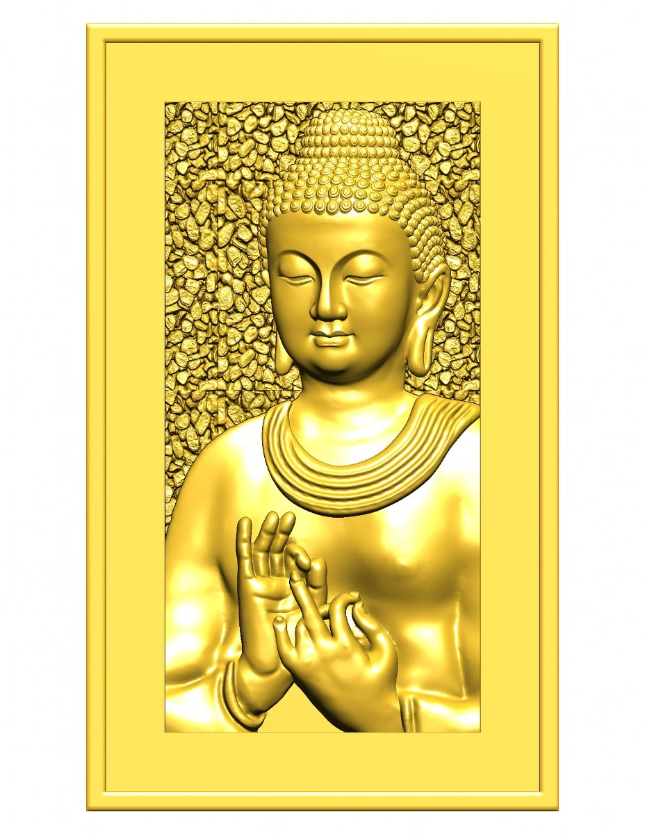 this is a 3d (2.5d) design  now i give some reference images post here    buddha design image 8 this is golden shadow image  made by : Keshwa Art...& group