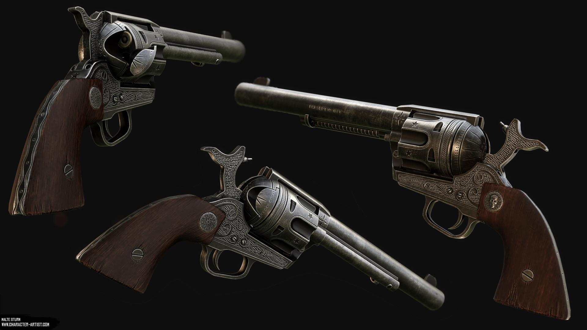 Malte sturm revolver comp