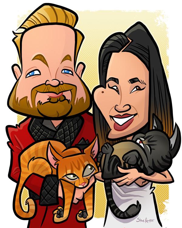 Steve rampton noah cat
