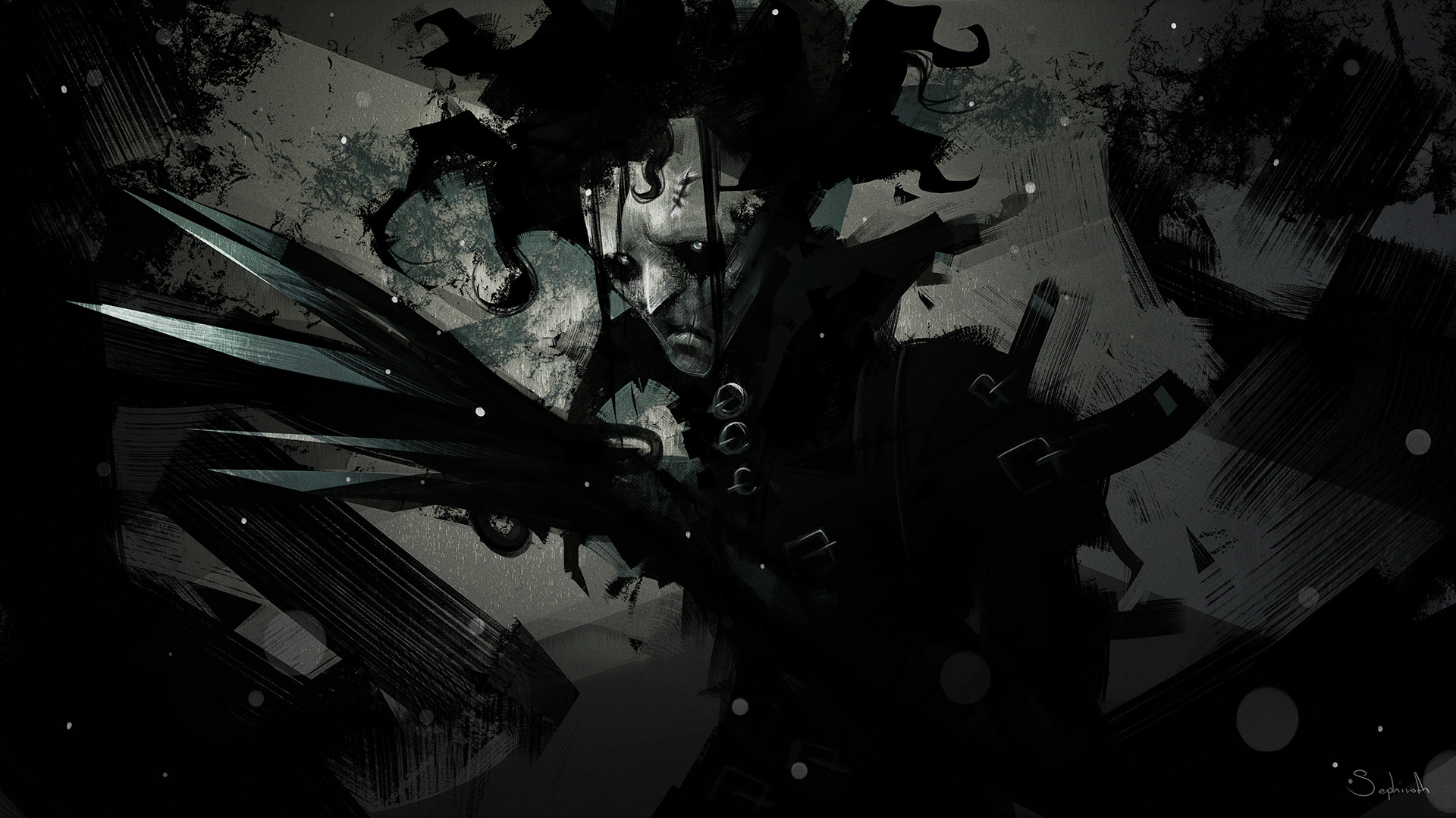Sephiroth art edvard