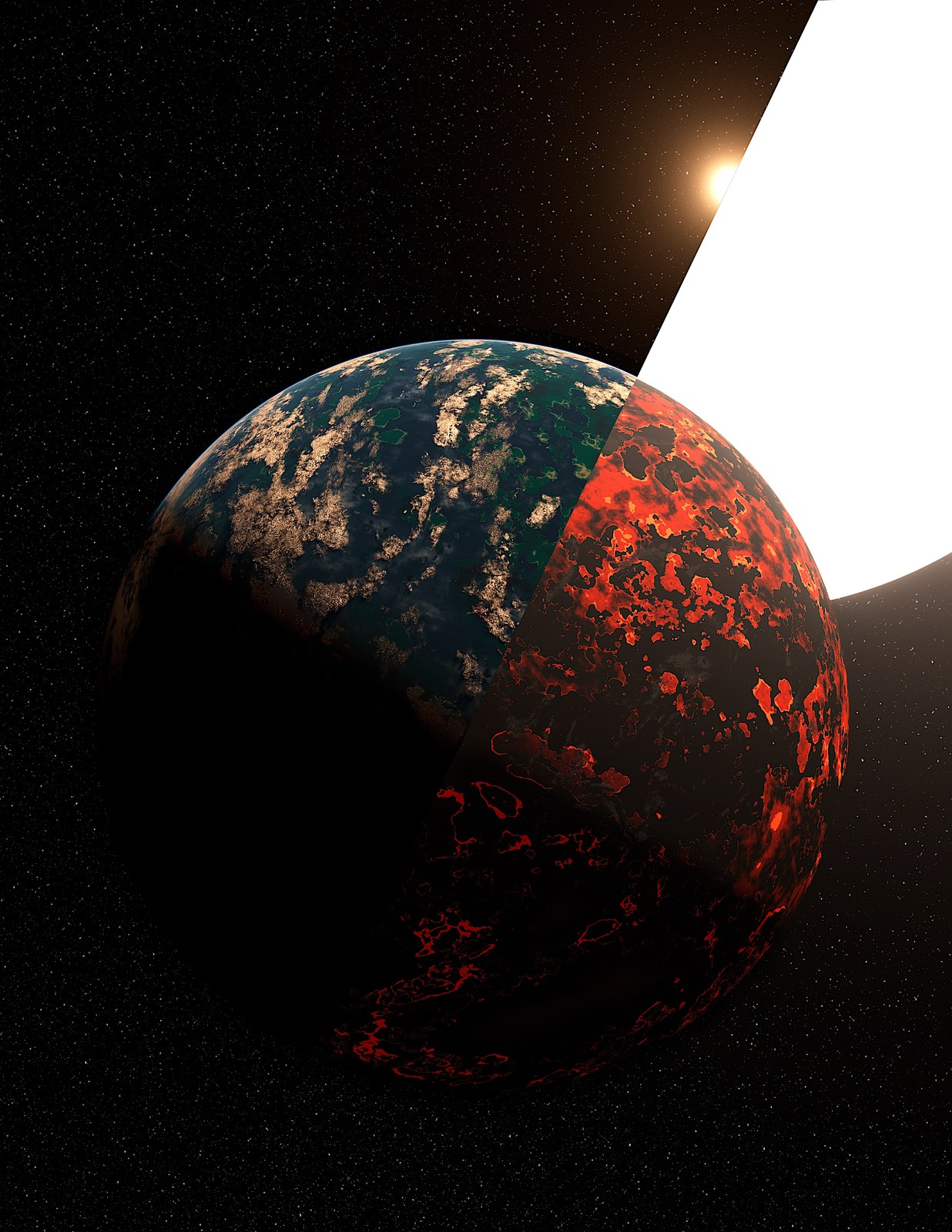 Lava Worlds to Living Worlds