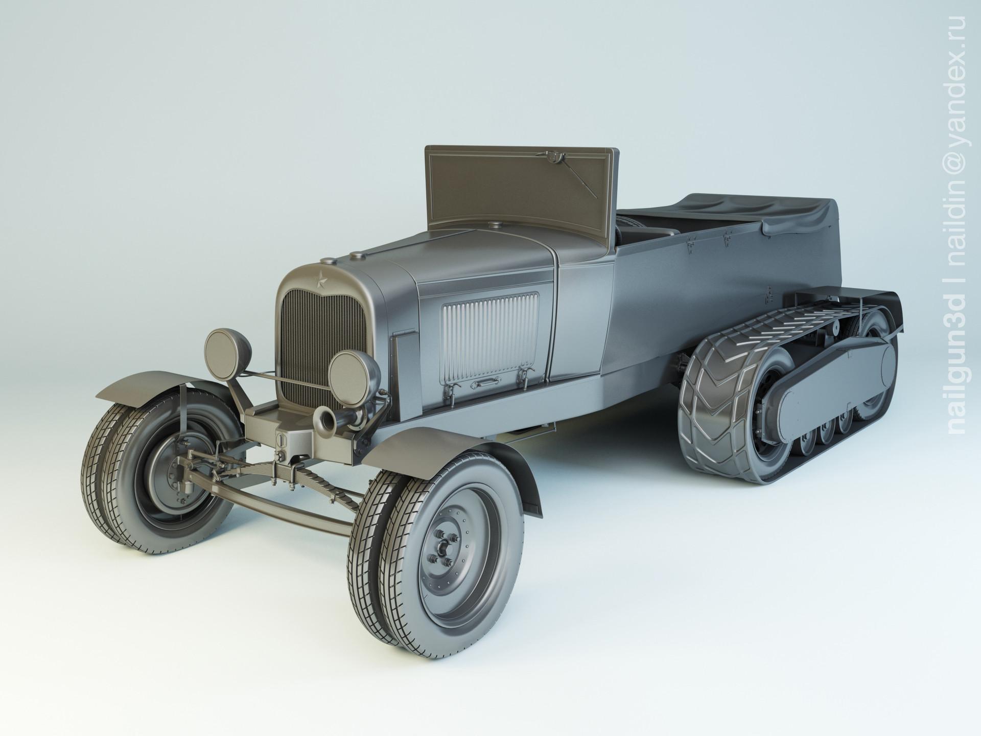 Nail khusnutdinov als 233 001 ford nati 2 modelling 0