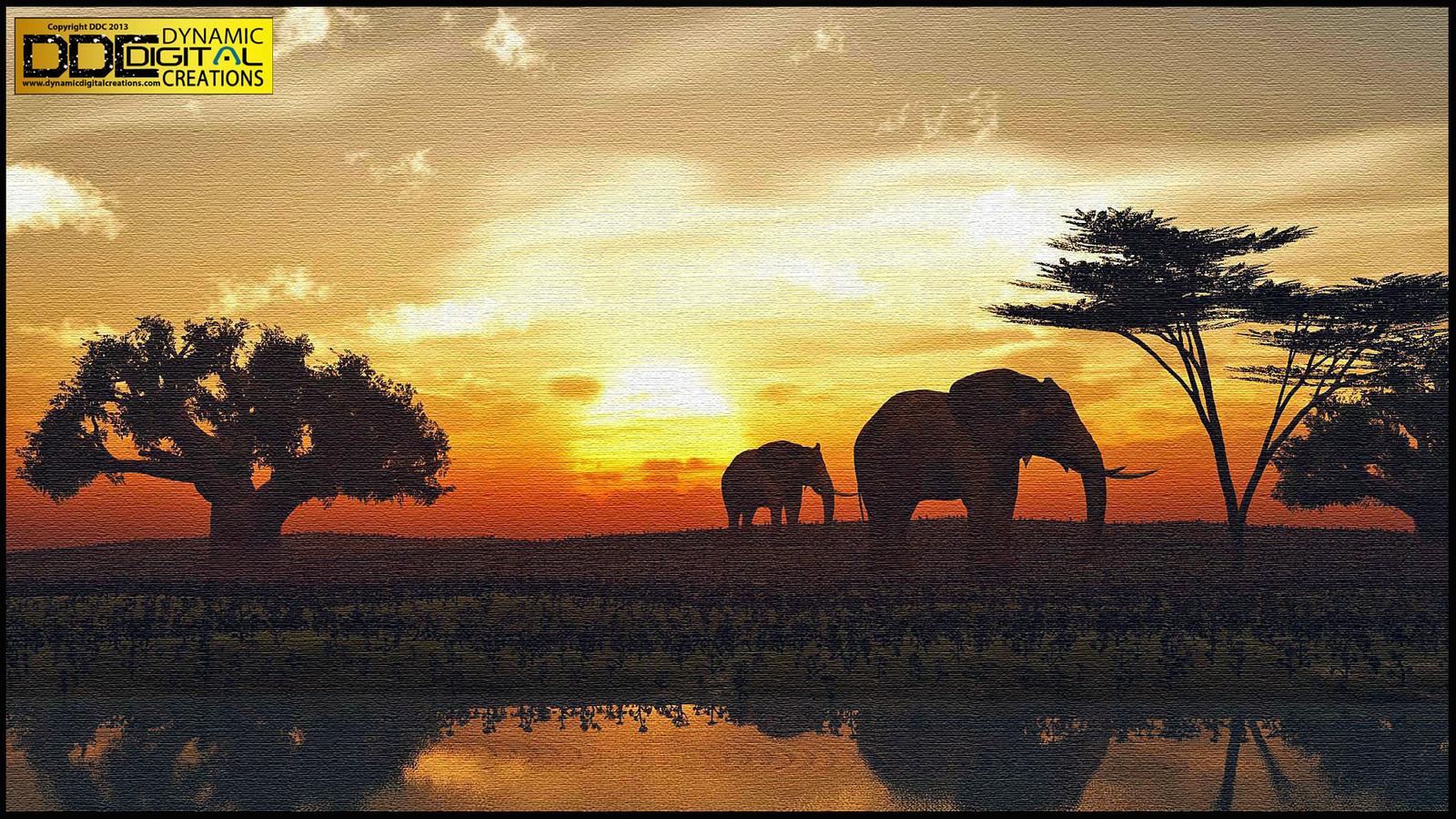 Elephant in Bush