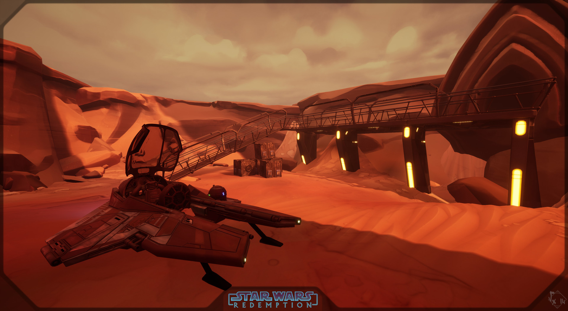 Etienne beschet la geonosis battlefields 02