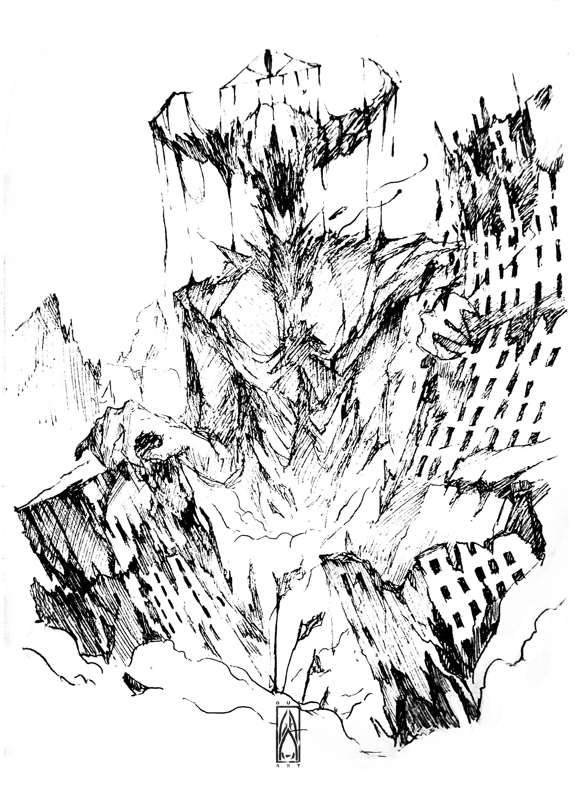 Gustavo arteaga a titan s tail of desolation