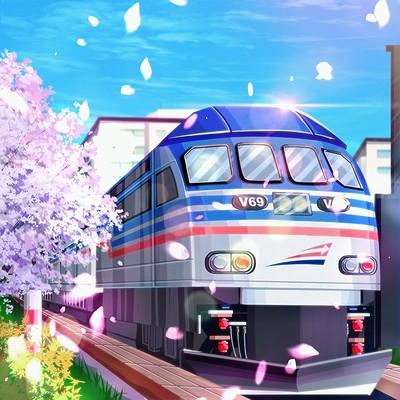Alvin lutfianda the train