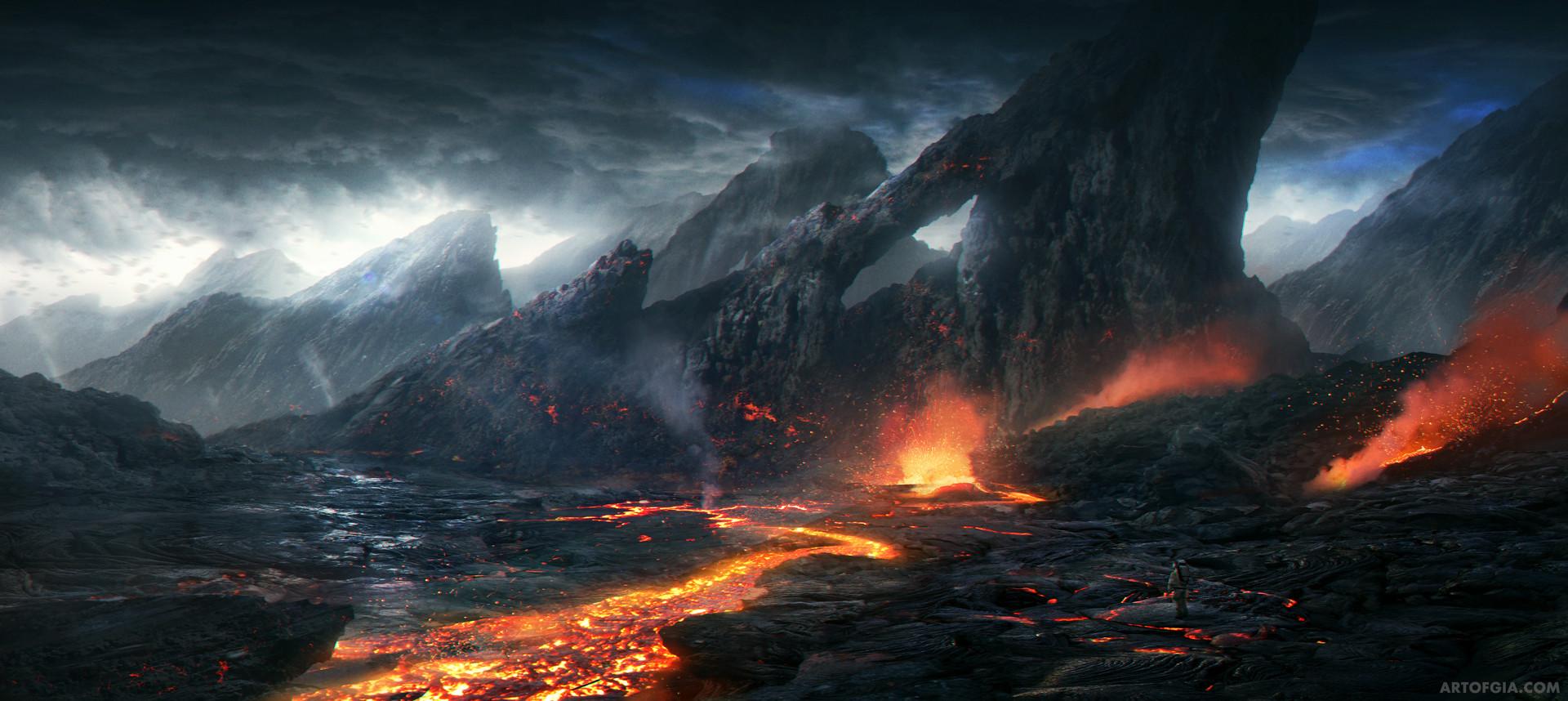 Gia nguyen gia nguyen 01 alien planet landscape final