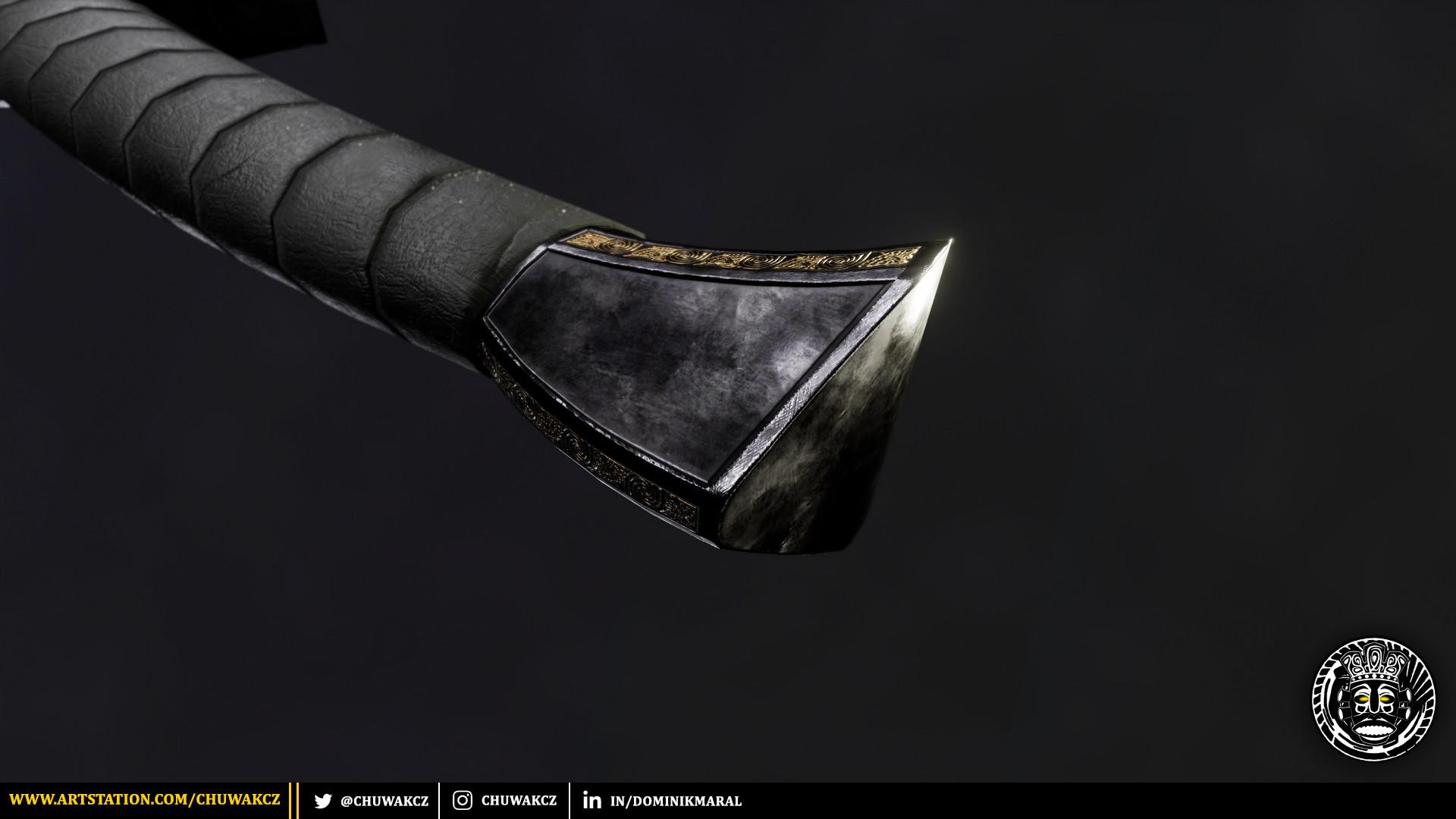 Dominik maral obsidianpommel2