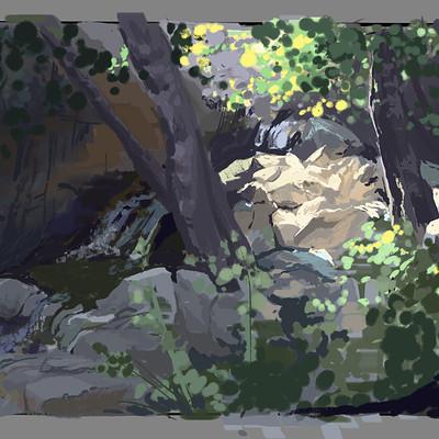 Rachel wilson landscape sketch 1