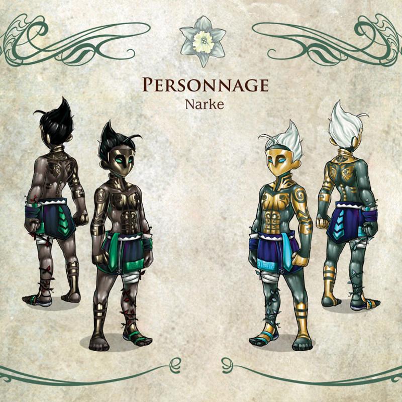 Narke Character Concept Art