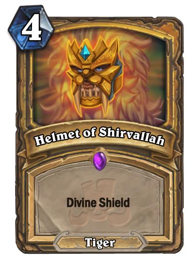 Helmet of Shirvallah Card - Paladin Spell Card