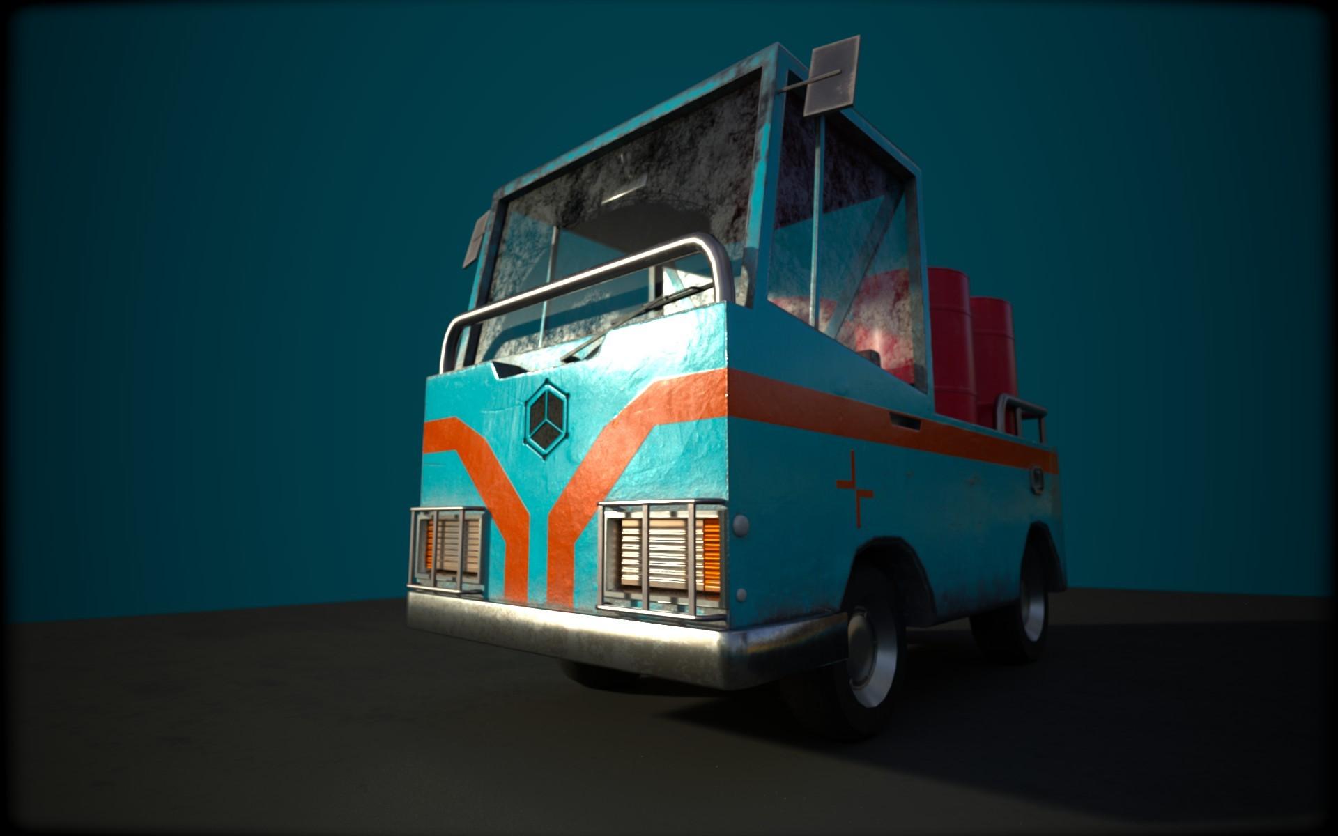 Dani palacio santolaria little truck 01