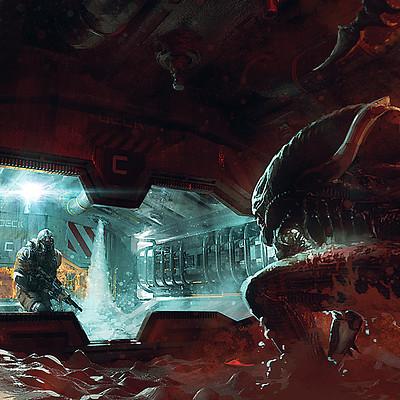 Joakim ericsson alien foam scene final x