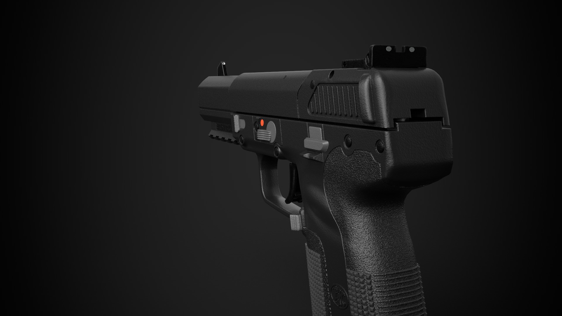 Oleksandr Pelypenko - FN Five-seveN pistol