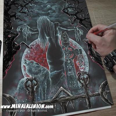 Mihai alin ion drawing nightbride mihai alin ion post