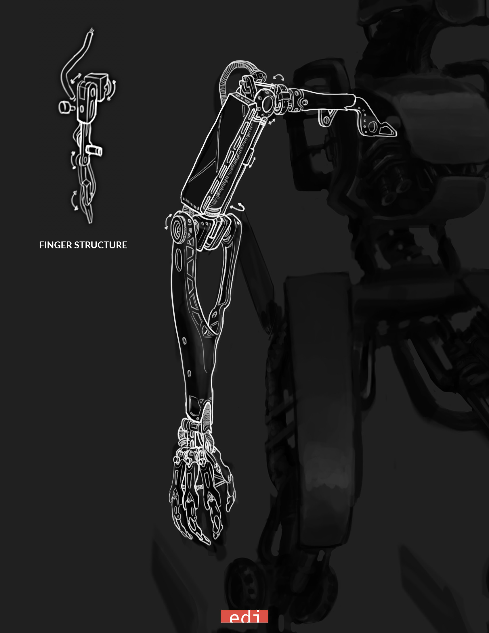 Advanced arm concept.