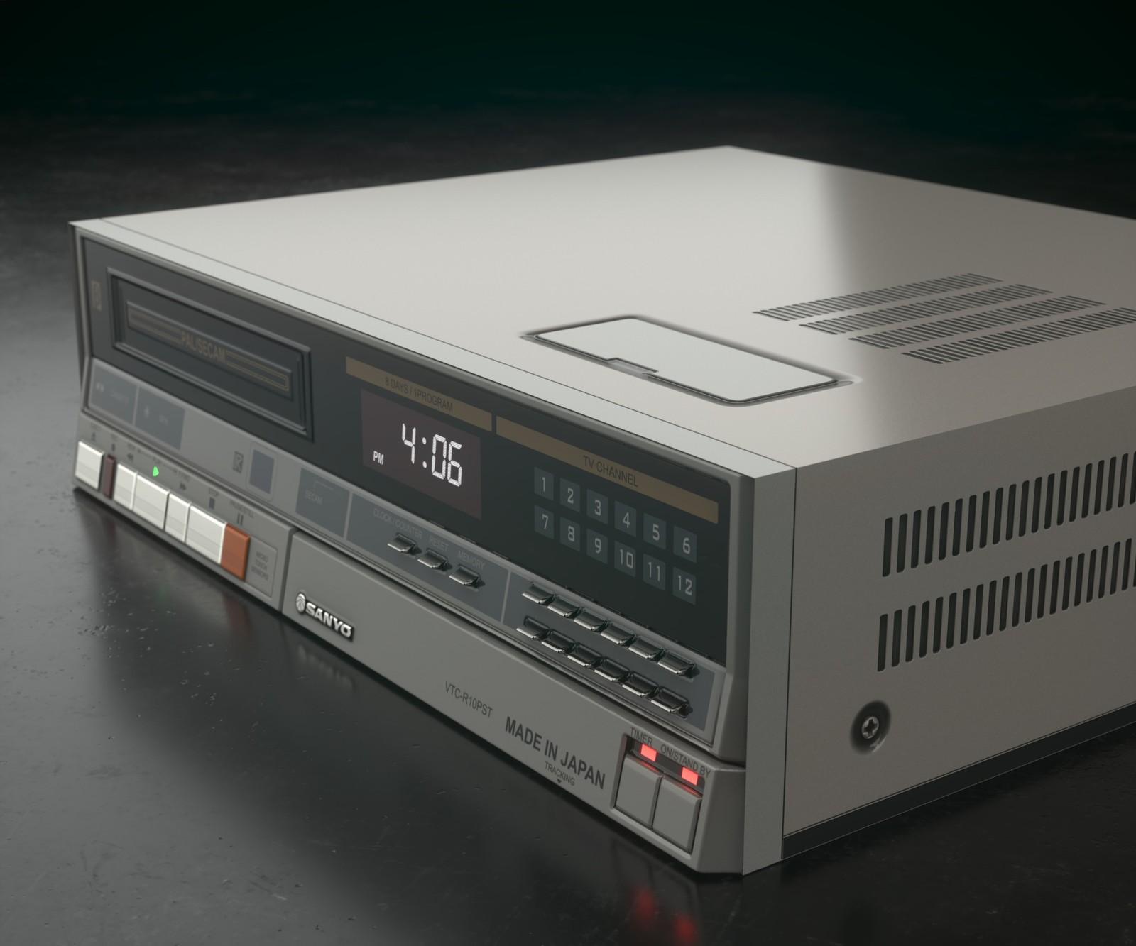 Sanyo Betamax VCR - Substance Modeling