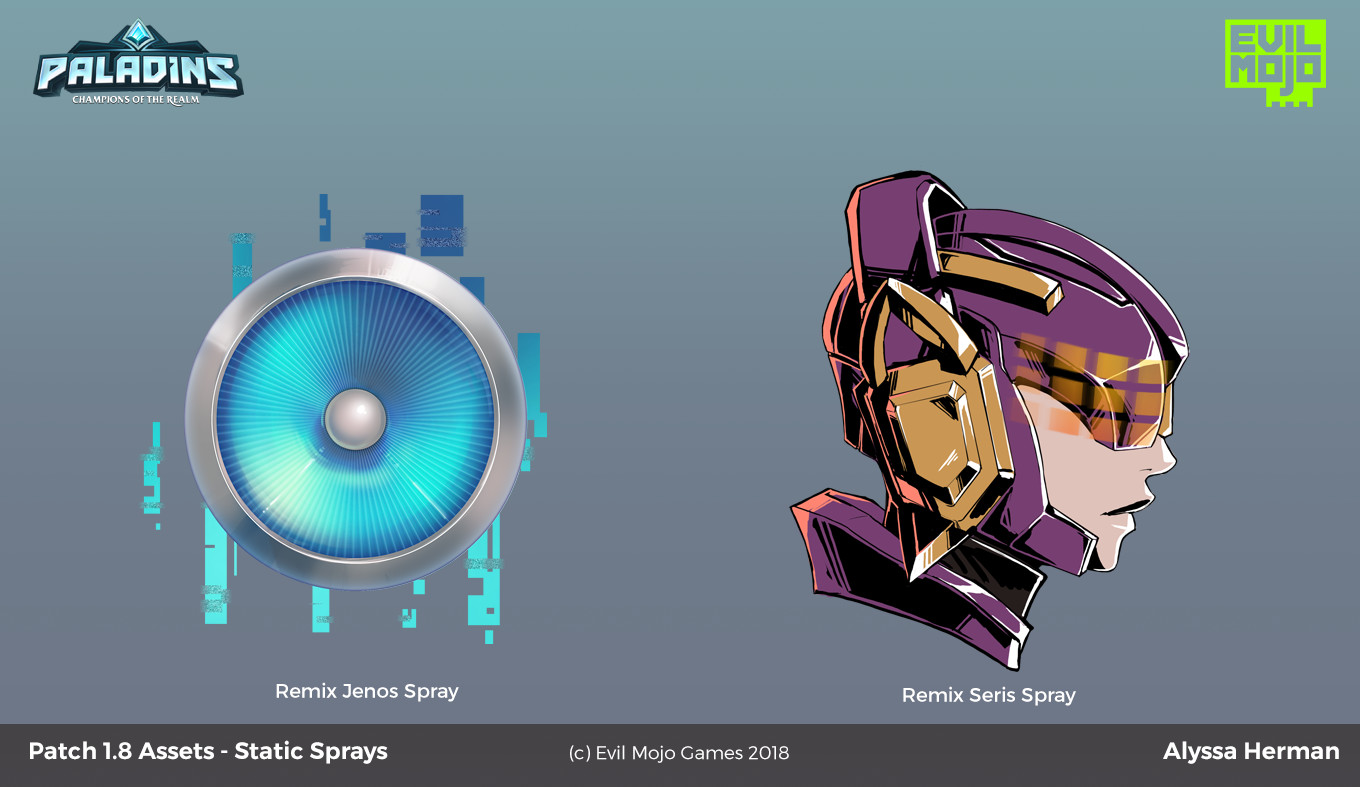 Static Sprays for the Remix battlepass!