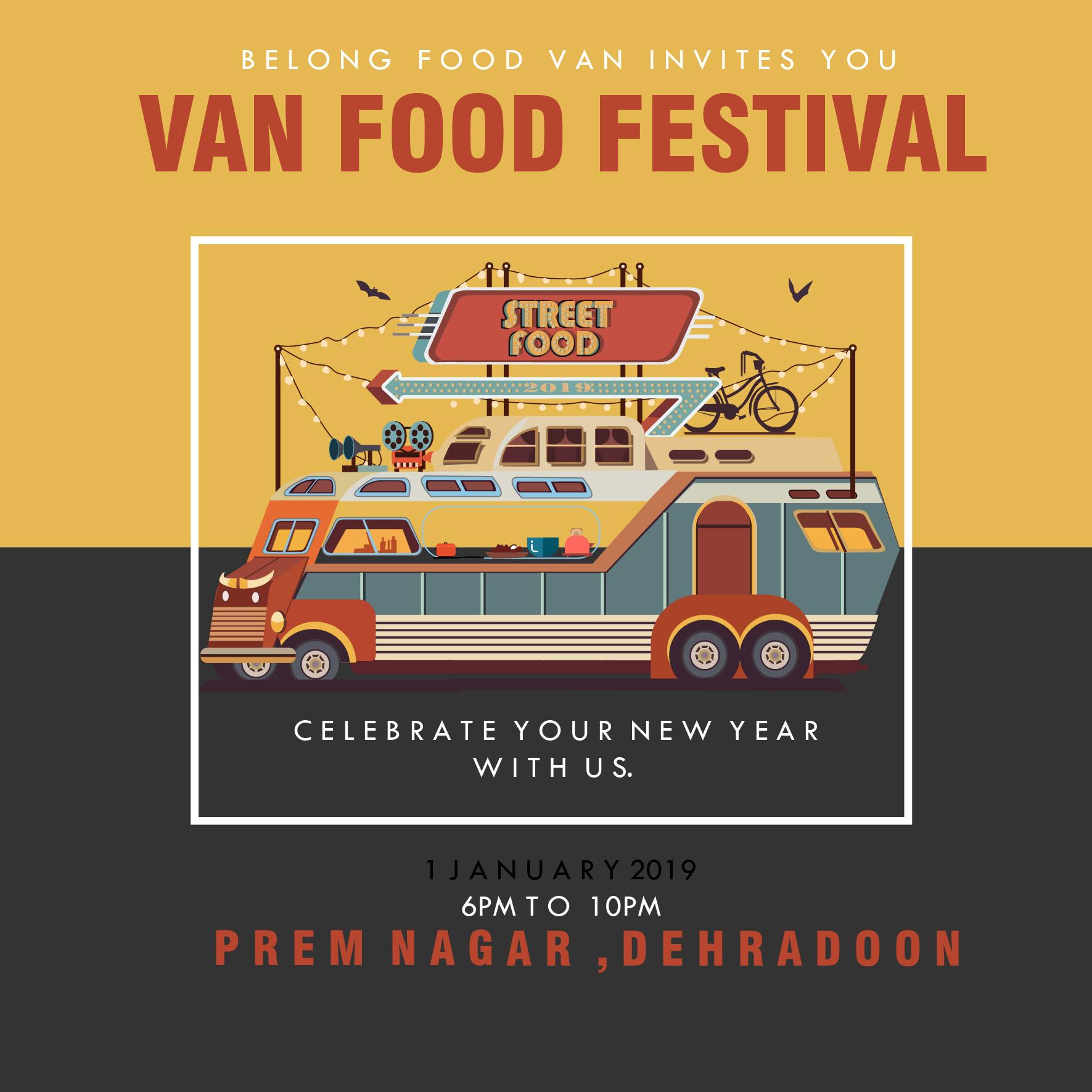 Anjali Som Van Food Festival
