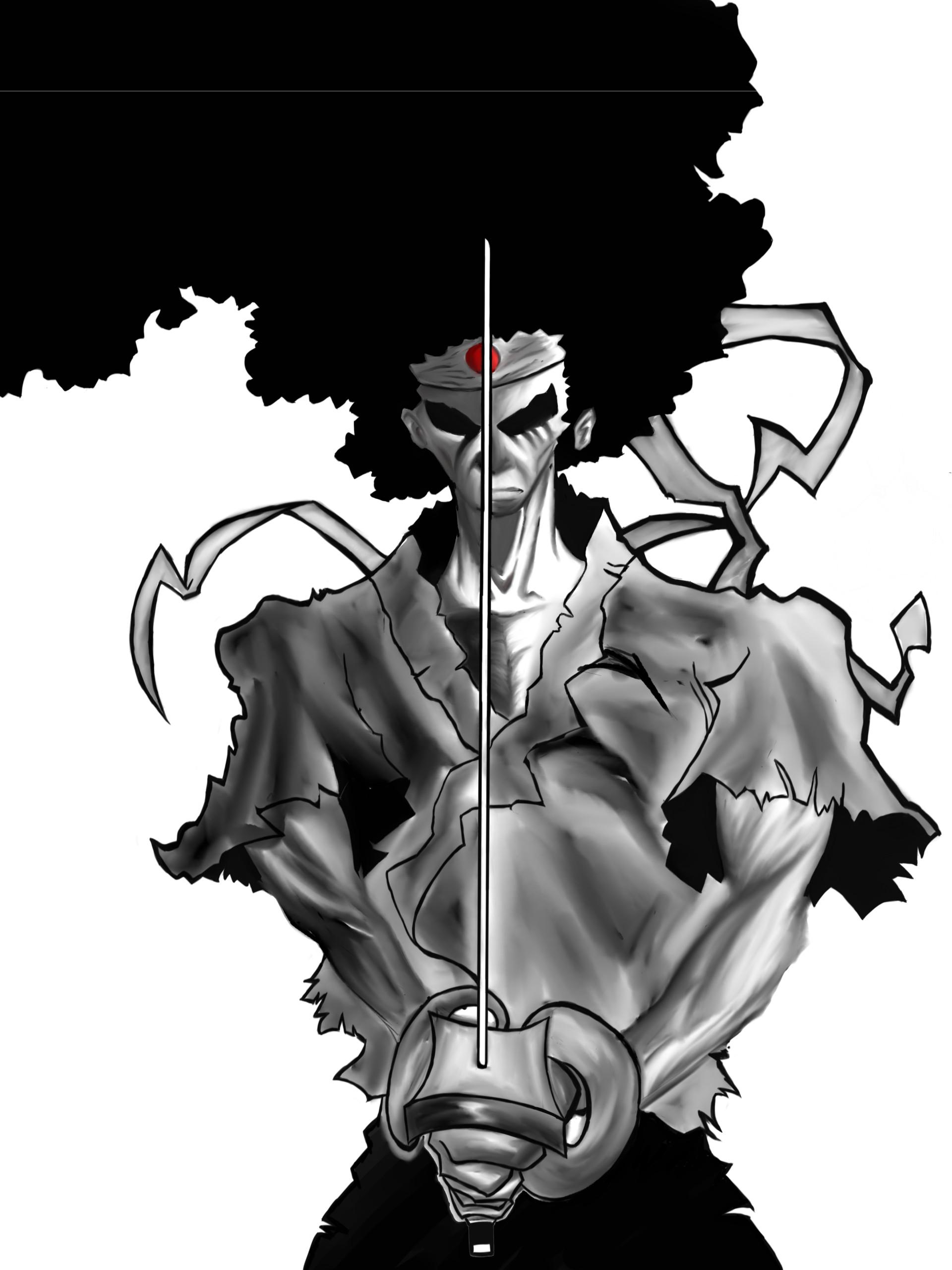 Rouen Do Rego Afro Samurai
