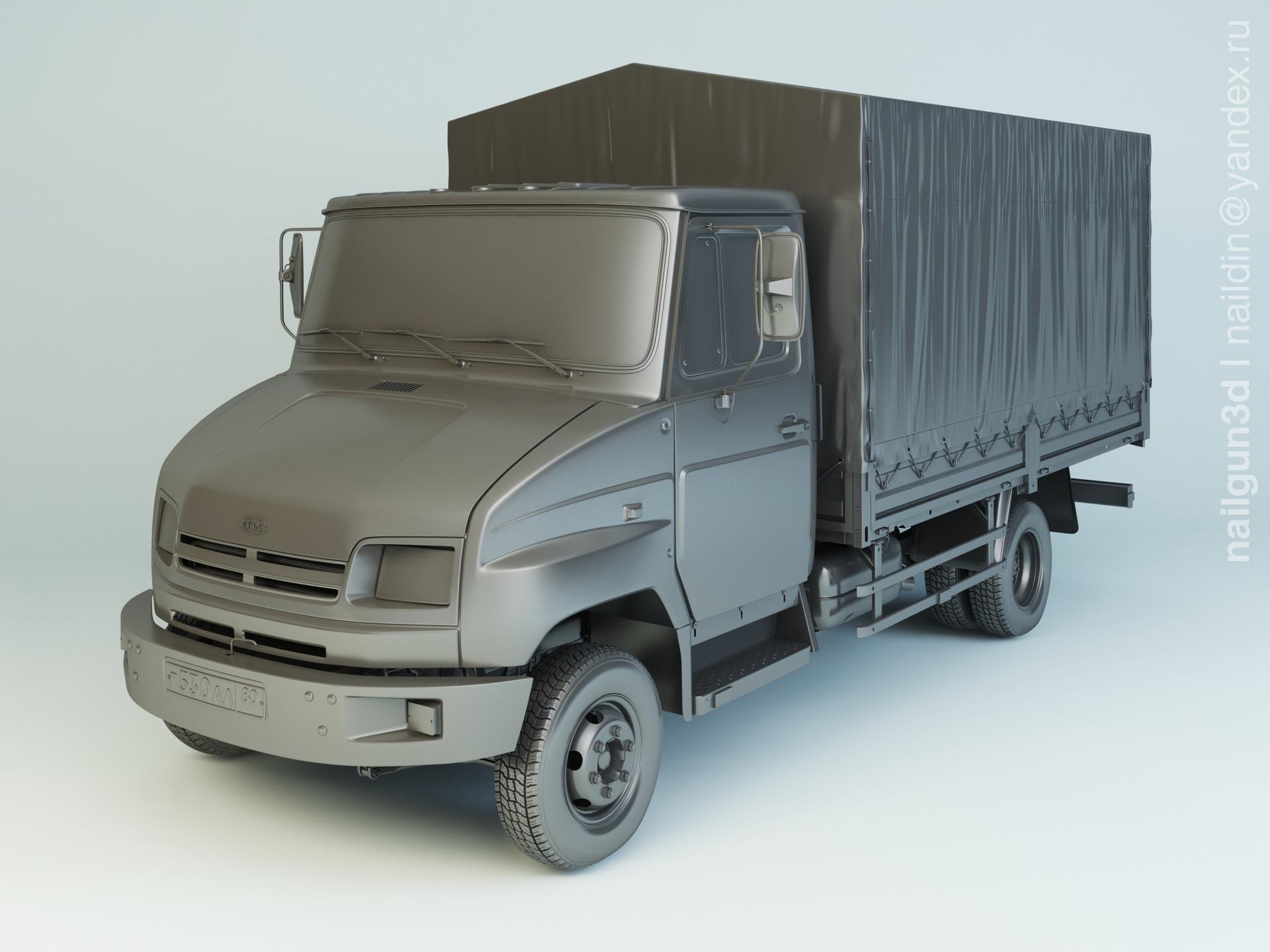 Nail khusnutdinov alg 037 003 zil 5301ao modelling 0