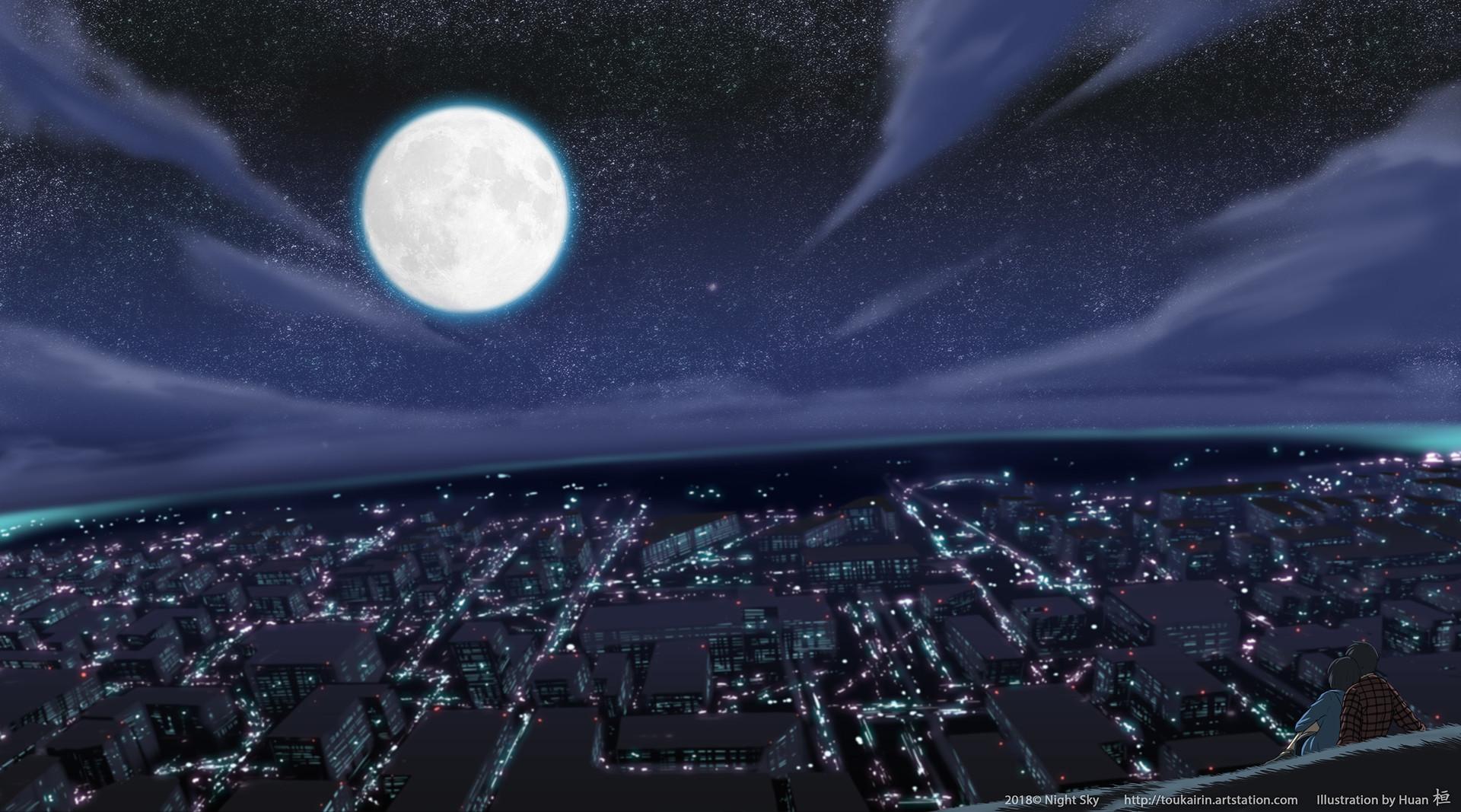 Huan lim night sky