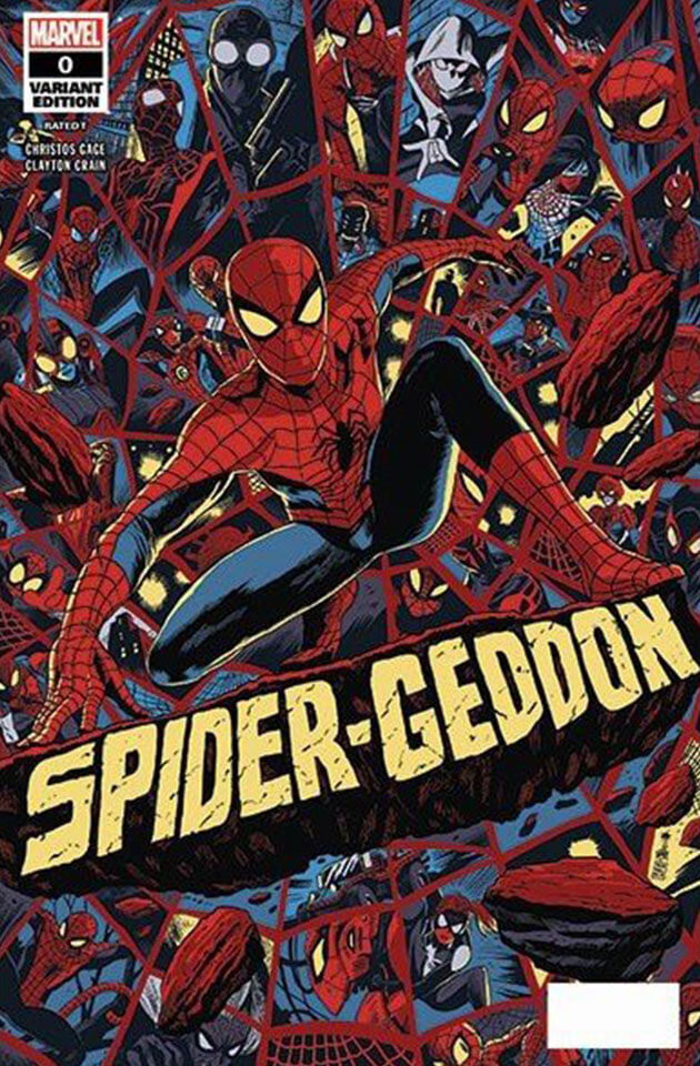 Kael ngu spider geddon 0 nycc mondo variant cover