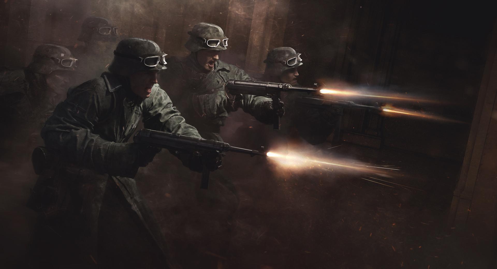 Guillem h pongiluppi 6 nazi soldiers