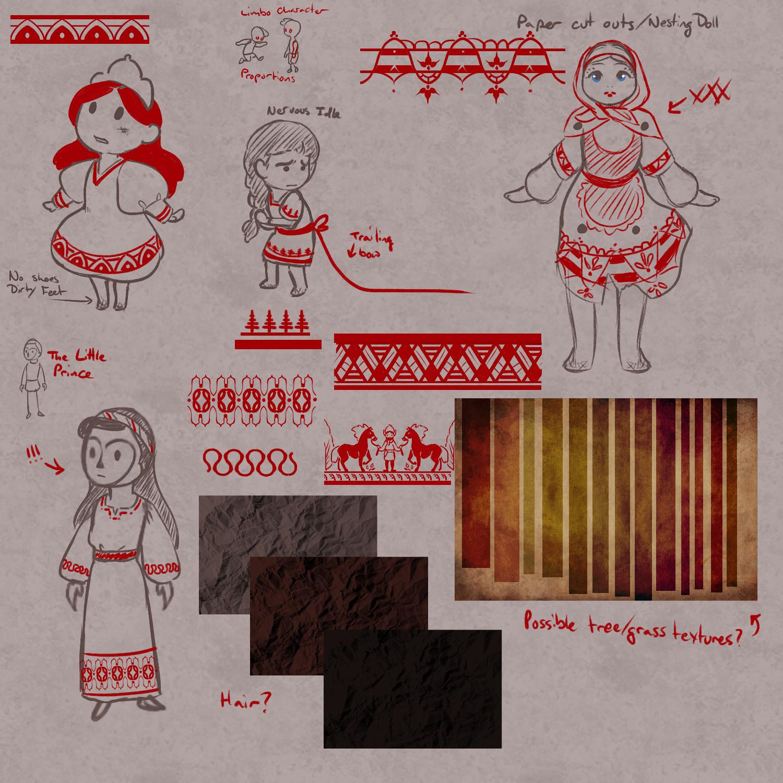 Crista megee ritual concept