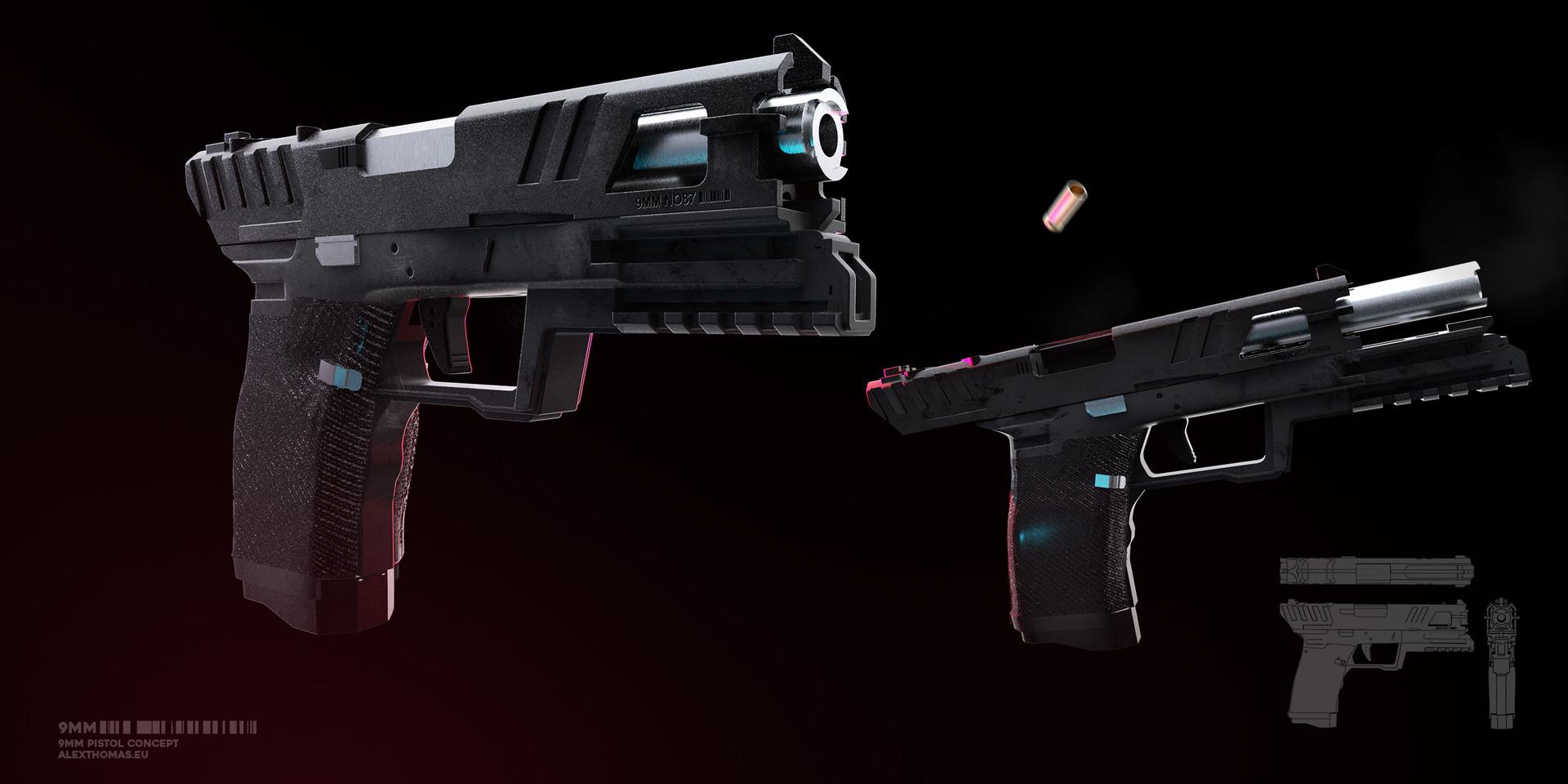 Alex thomas final pistol