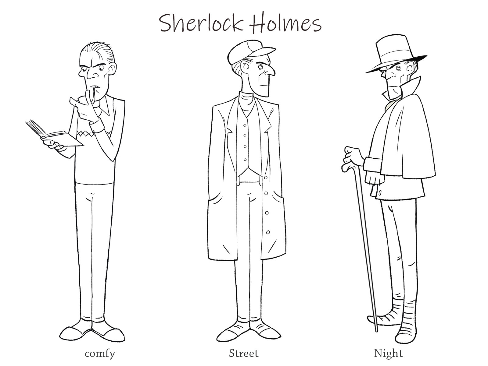 West clendinning sherlock sheet line small