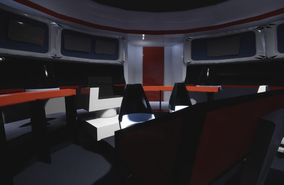 ArtStation - Star Trek TOS Enterprise bridge, Miriam Volk