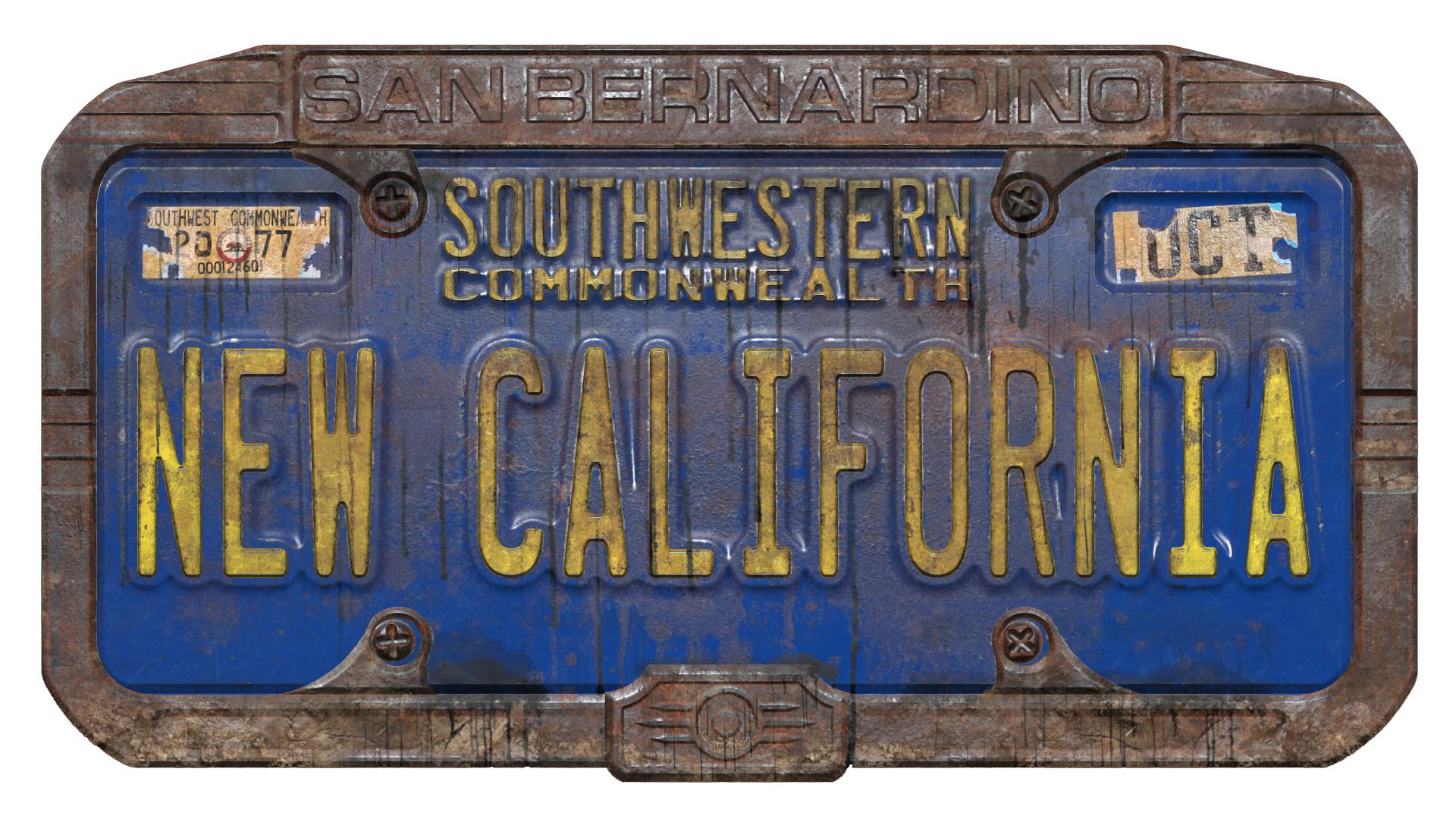 ArtStation - Fallout: New California Logo, Brandan Lee