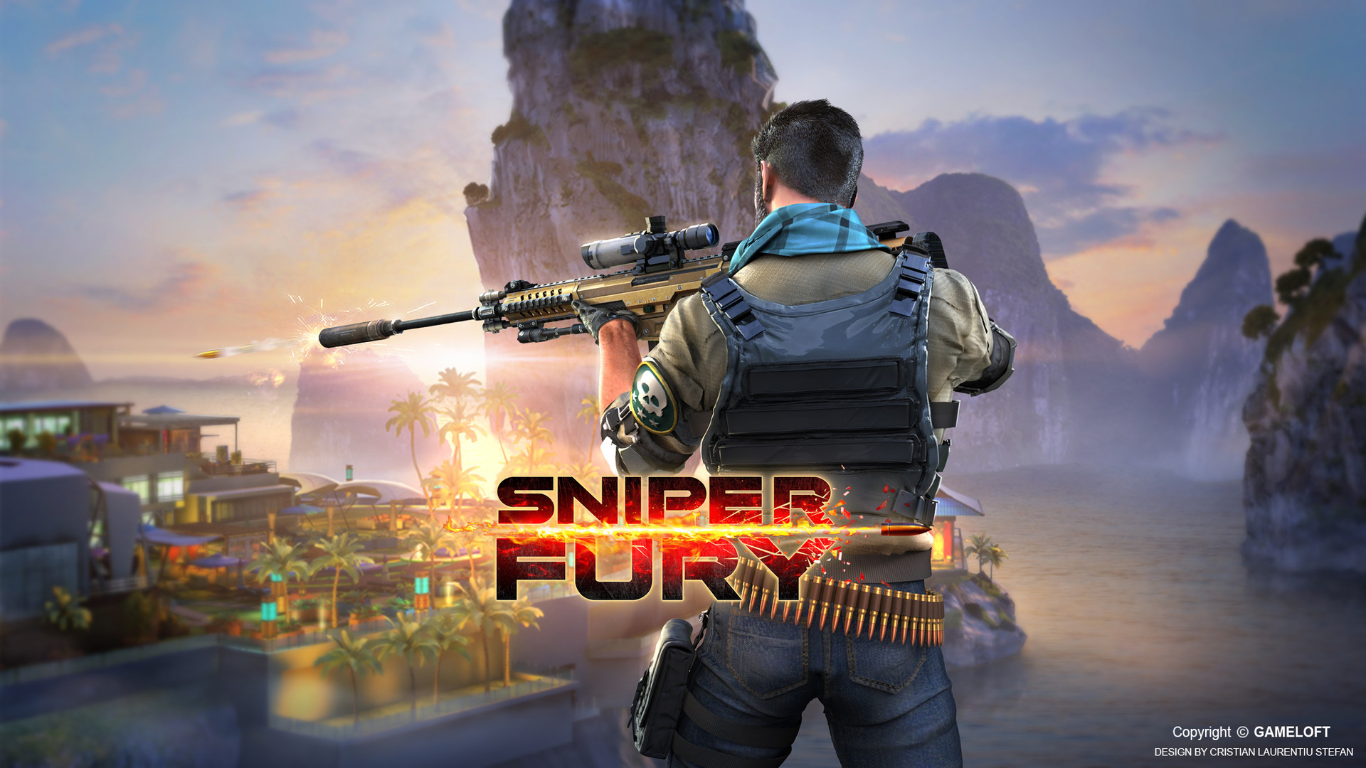 ArtStation - Sniper Fury (marketing art) - 02, Cristian