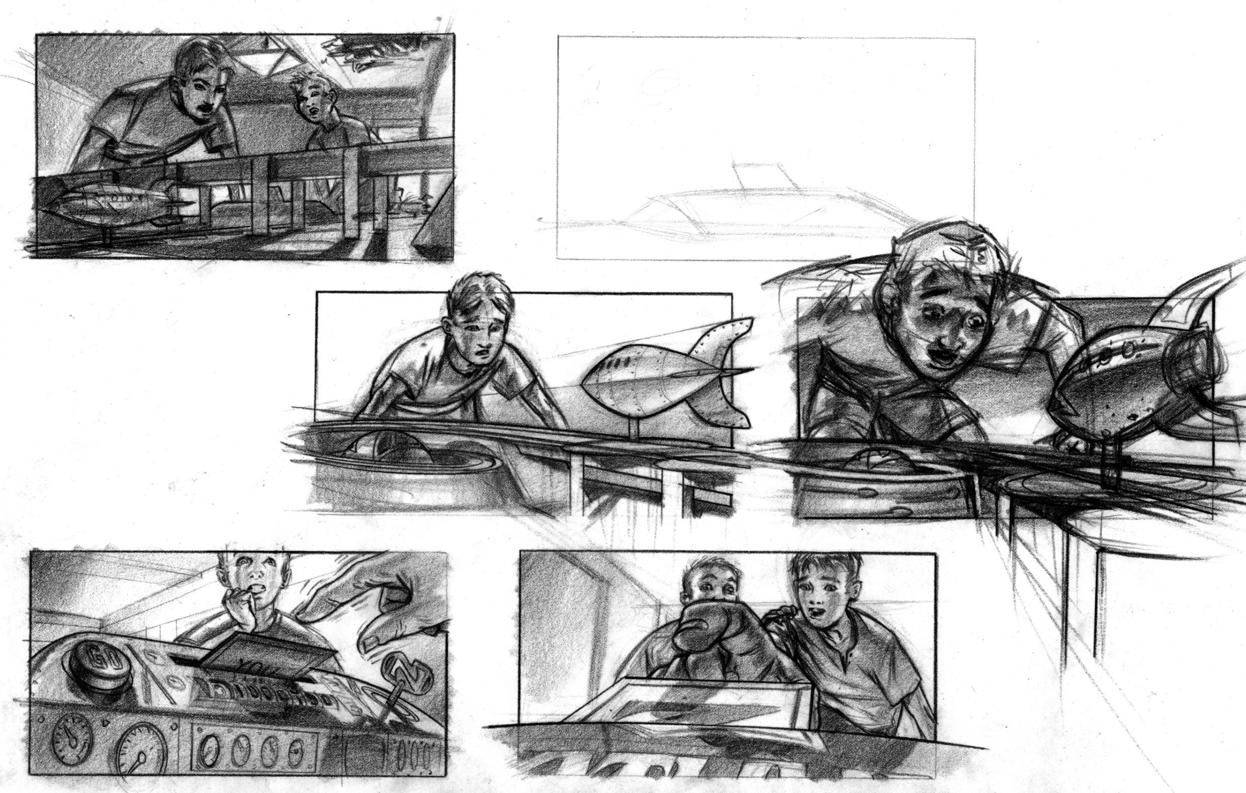 More game POV Storyboards.