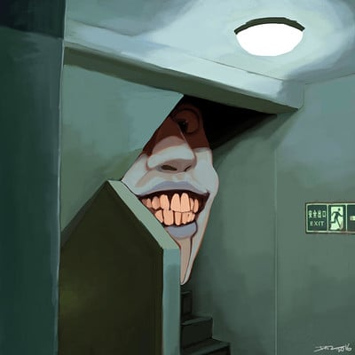 Daryl toh stairs