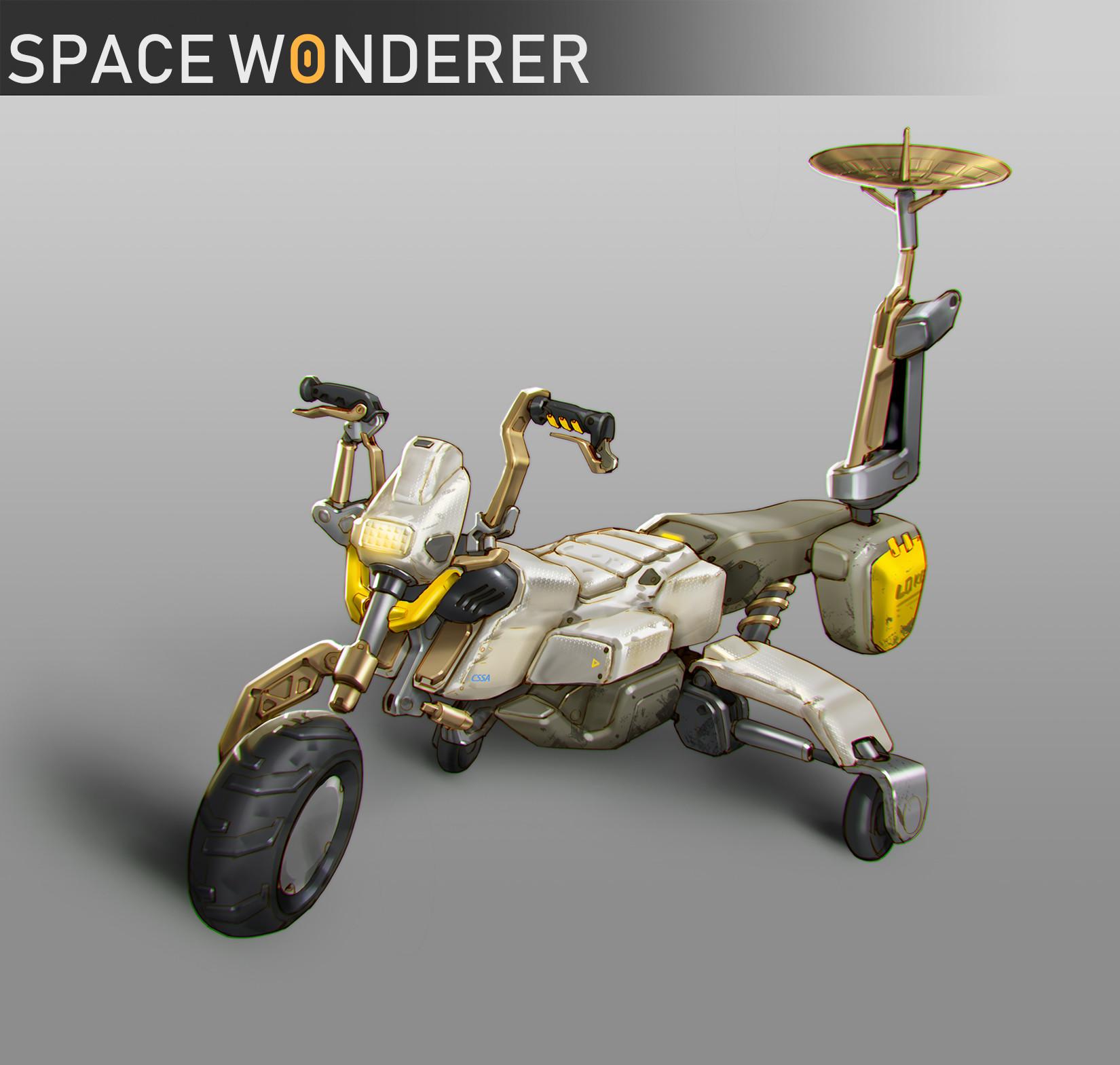 Ben zhang space wonderer